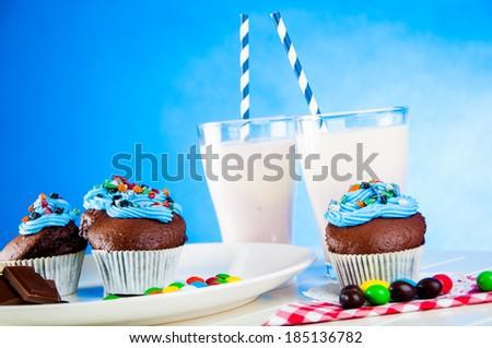 Tasty sweet delights - stock photo