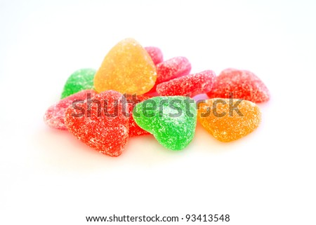 Tasty  sweet hearts