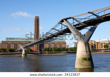 Tate Modern - stock photo