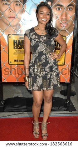 Tatiana Ali at HAROLD AND KUMAR ESCAPE FROM GUANTANAMO BAY Premiere, ArcLight Cinerama Dome, Los Angeles, CA, April 17, 2008 - stock photo
