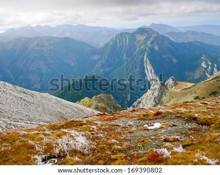 Tatra Mountains in Poland - stock photo