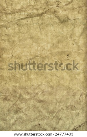 Tattered grunge paper texture - stock photo