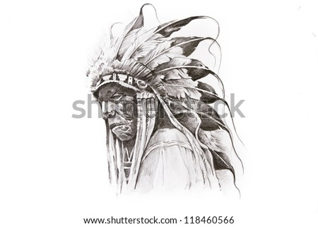 Native American Warrior Symbol Tattoos More Information