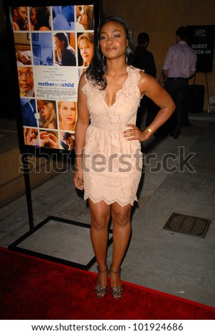 "Tatyana Ali  at the Los Angeles Premiere of ""Mother and Child,"" Egyptian Theater, Hollywood, CA. 04-19-10"