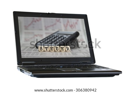 tax - stock photo