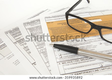 tax declaration, the declaration pit