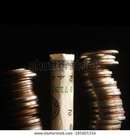 Tax Money, Taxes  - stock photo