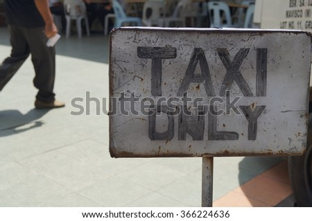 Taxi Only