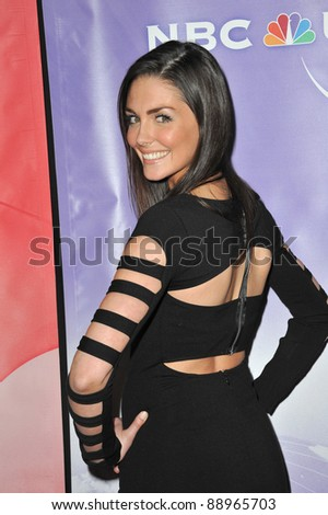 Taylor Cole at the NBC Universal Winter 2011 Press Tour at the Langham Huntington Hotel, Pasadena. January 13, 2011  Pasadena, CA Picture: Paul Smith / Featureflash