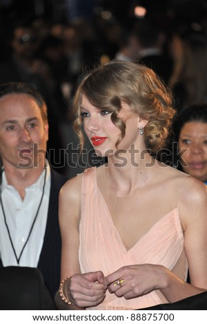 Taylor Swift at the 2011 Peoples' Choice Awards at the Nokia Theatre L.A. Live in downtown Los Angeles. January 5, 2011  Los Angeles, CA Picture: Paul Smith / Featureflash
