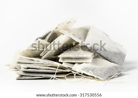Tea bags - stock photo