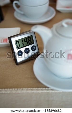 Tea infusion timer
