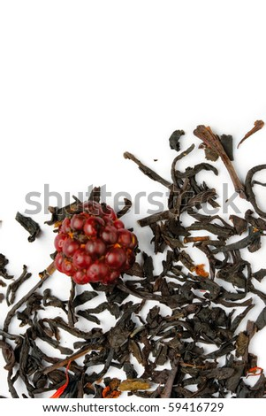 Tea isolated on the white background - stock photo