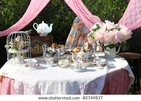 Tea Party - stock photo
