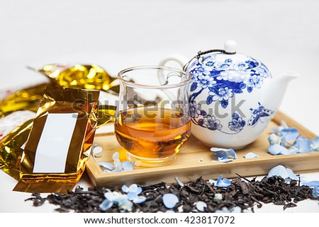 Tea Traditional Chinese Tea - stock photo