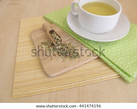 Tea with lemon grass