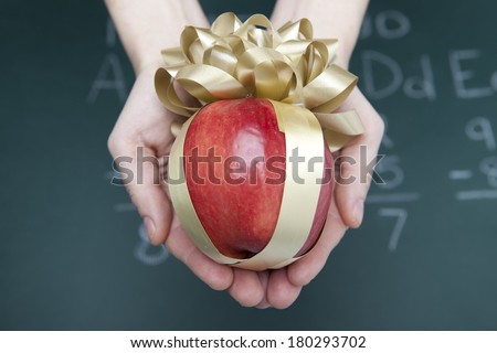 Teacher's Gift - stock photo