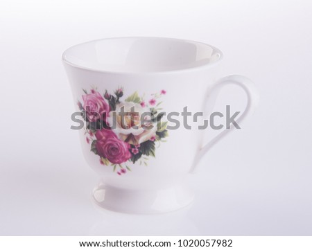 Teacup background