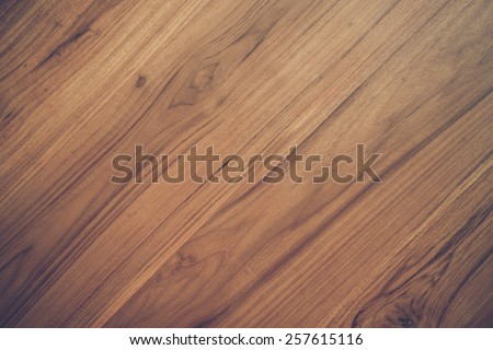 teak wood texture with natural pattern diagonal - stock photo