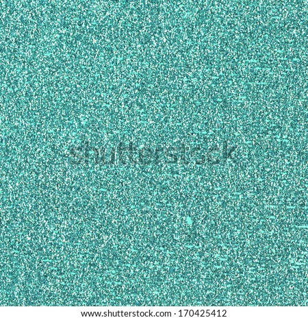 Teal Glitter Background - stock photo
