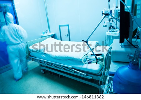 Team doctor working in operating room. - stock photo