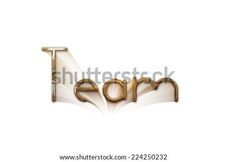 Team, friendship, partnership, society creative web concept sign icon - stock photo