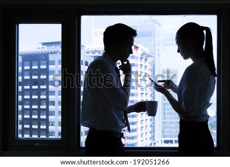 Team of successful business people. - stock photo