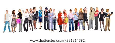 Team Together Business Idea  - stock photo