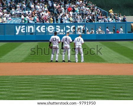 teammates - stock photo