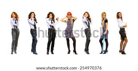 Teamwork Achievement Business Idea  - stock photo