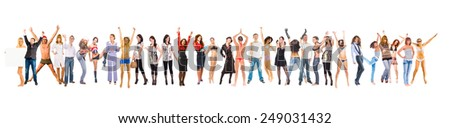 Teamwork Achievement Success Concept  - stock photo