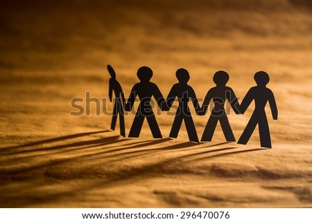 Teamwork, Human Resources, People. - stock photo