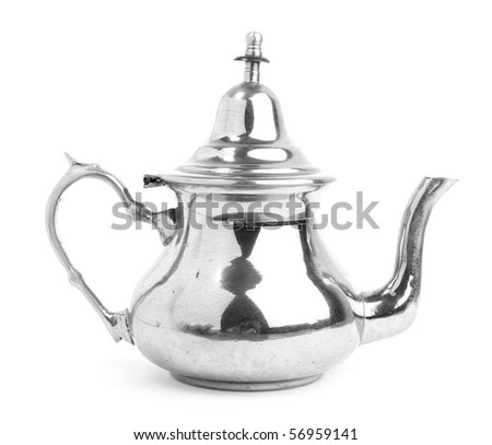teapot - stock photo