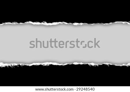 Tear paper - abstract background - stock photo
