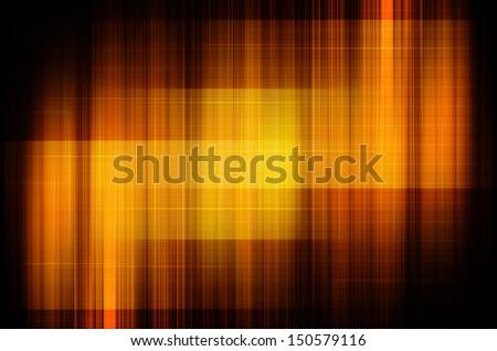 tech in dark orange background - stock photo