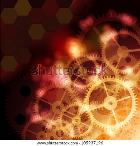 Technical background. Raster version, vector file ID: 104839664 - stock photo