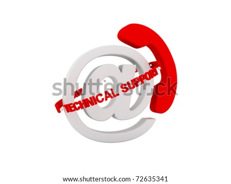 Technical Support - stock photo