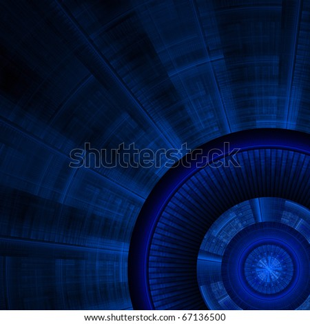 Technological background - stock photo