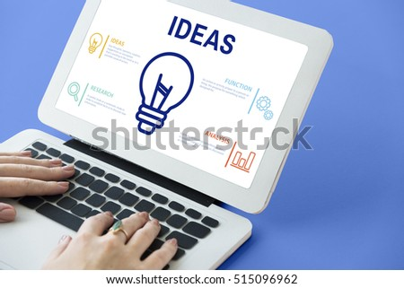 Technology New Ideas Creative Concept