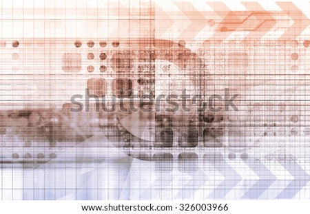 Technology Provider of Solutions in a Business - stock photo