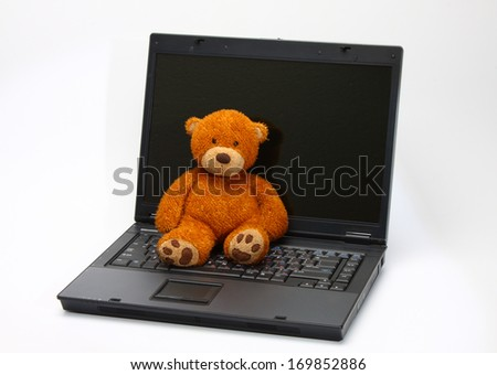 teddy bear abandoned because new digital toys