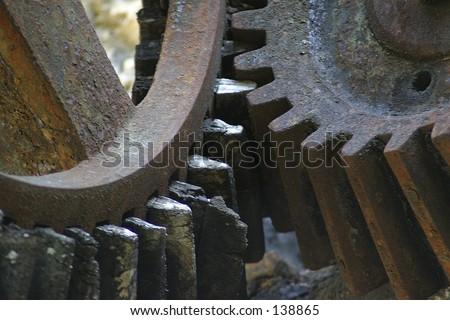 Teehth weels - stock photo