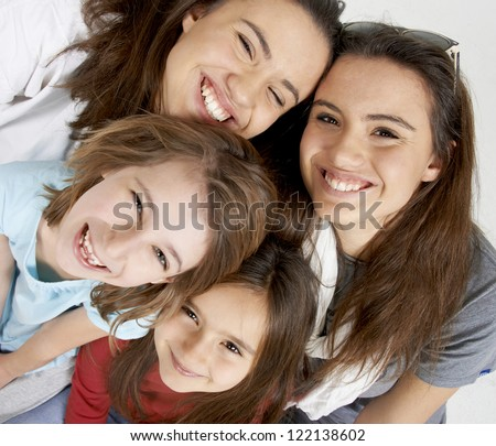 teen ager portrait - stock photo
