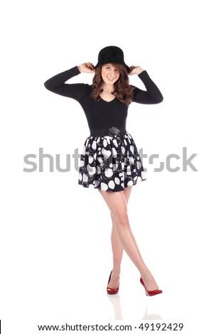 Teen Fashion - stock photo