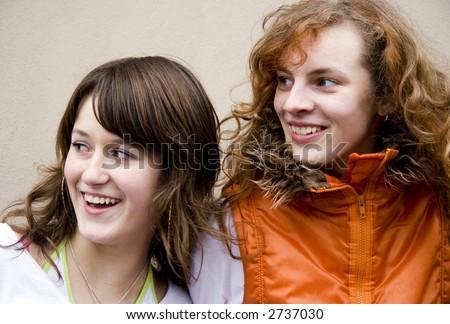 Teen Friends - stock photo