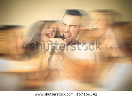 Teenage Rock - stock photo