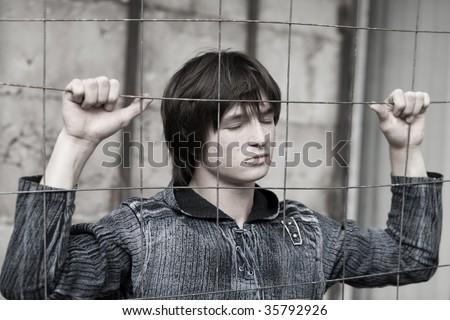 Teens problems - stock photo