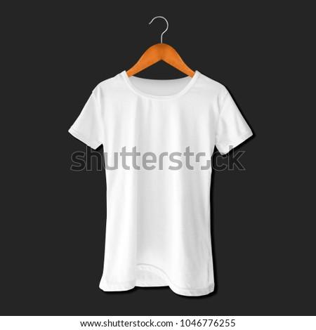 Tees Hanger Mockup Template Stock Photo 1046776255 - Shutterstock
