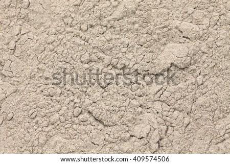 teff flour, ethiopian food  - stock photo