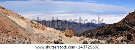 Teide National Park,Tenerife, Canary Islands, Spain
